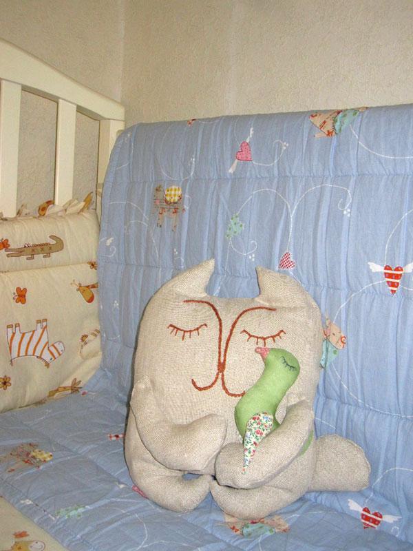Подушка-кот