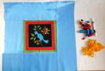 материалы и пошив подушки