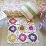 «Цветные вертушки» — коврик в детскую комнату