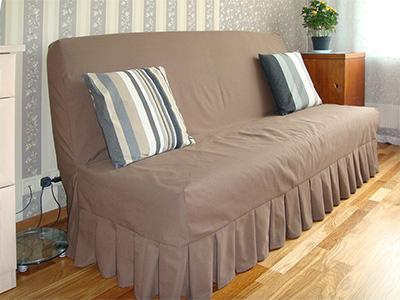 Как сшить чехол для дивана с подлокотниками 15