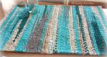 бирюзовый коврик