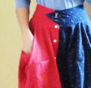 Оригинальная юбка из мужских рубашек!