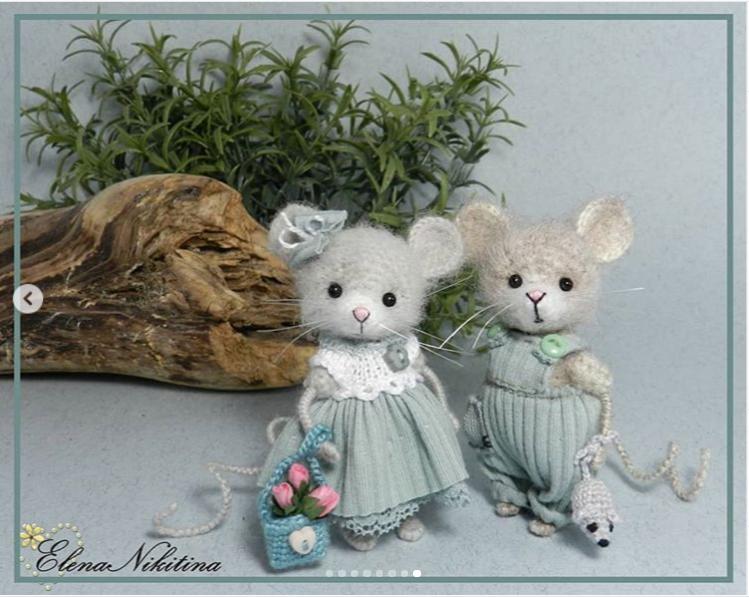 мышки мальчик и девочка
