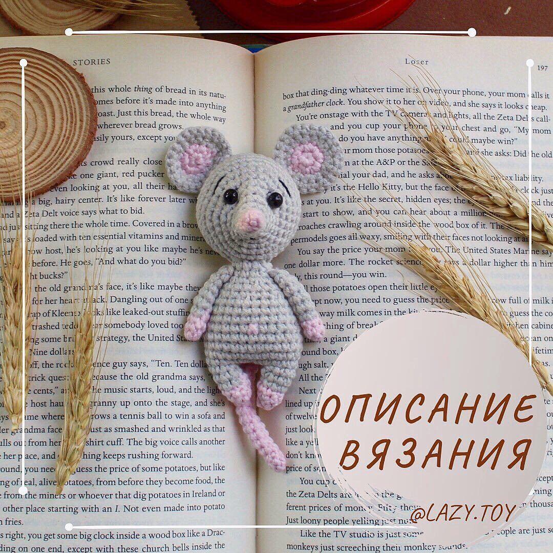 мышка в книжку